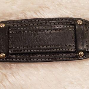 Coach Bags - Vintage Coach Black Leather Hobo Shoulder Bag